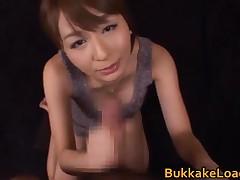 Jessica Kisaki - Jessica Kisaki Real Asian Doll In Bukakke 5 By BukkakeLoad