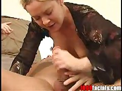 Lainey Baron - 1000 Facials - Lainey Baron Sucks Off Big Cock