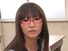 Naughty Asian Student Taking A Fat Cock In Classroom