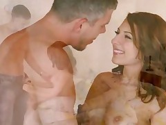 Lexi Bloom - Petite Pornstar Lexi Bloom Gets Her Tight Shaved Pussy Deeply Penetrated After Sucking