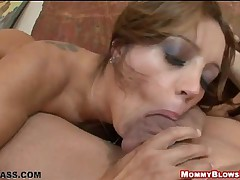 Francesca Le - Mommy Blows Best - Hot Milf Sucks Hard And Fast