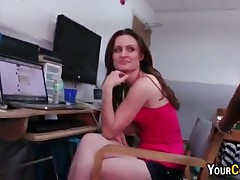 College Girlfriend Gets Jizz In Her Mouth After Fucking In Front Of Bff