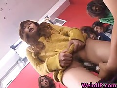 Asian Orgy Training Ground Used For Lessons In Masturbating 2 By Weirdjp