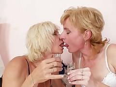 Radima - Blond Milfs Kissing Licking And Dildo Fucking