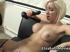 Hot Latin Babe Gets Her Pussy Licked By Blonde Lesbo Slut Porno Clip 4 By ElisabethMovies