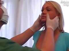 Mariana - Blonde Chubby Mariana Pussy Speculum Exam