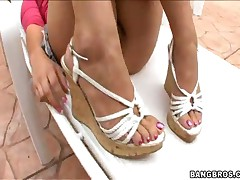 London Keyes - Magical Feet - London Keyes Sensitive Feet!