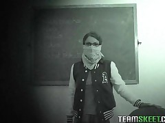 Presley Hart - InnocentHigh Smalltits Brunette Teen Presley Hart Fucks Teachers Cock