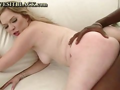 Tera Knightly - Beautiful MILF Sucks Black And Gets Pounded