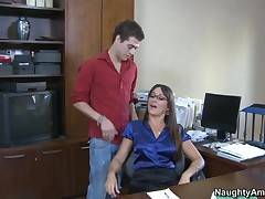 Michelle Lay Vs Xander Corvus - My First Sex Teacher - Michelle Is Excited To See How Much Her Gradu
