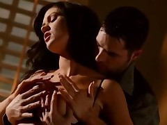Kendall Karson - Enormous Boobs Brunette Pornstar Kendall Karson Pussy Railed After Giving A Nice Aw