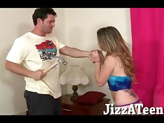 Staci Silverstone - Filthy Young Girl Staci Silverstone Hard Pounded In Her Shaved Yummy Pussy By Th