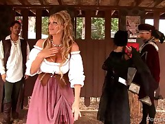 Rebeca Linares And Kelly Madison - Renaissance Fuck Faire