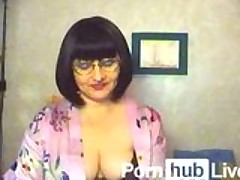 ScandalHairyPuss From Pornhublive Plays With Dildo