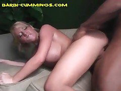 Barbi Cummings - His Buddy Takes A Turn, And Unloads Creampie