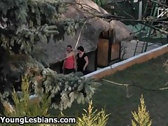 Cute Teen Girl Gets Seduced Into Lesbian Sex By This Mature Lady By OldNYoungLesbians