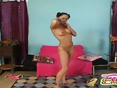 Teen Emery - Teen Stripping Naked