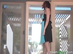 Jayden Cole - SelfDesire Hot Redhead Babe Jayden Cole Outdoor Masturbation