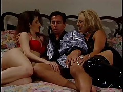 Alexxx Knight and Precious Silver Threesome