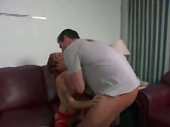 Allie Sin gets big mouth and face load