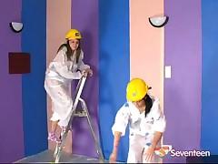 A Lesbian Paint Job