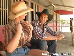 Abbey Brooks - Things Heat Up In The Country
