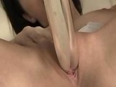 Gianna Micheals rubs on her wet pussy