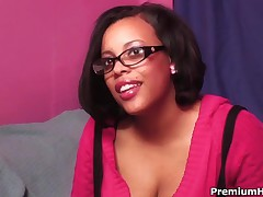 Christina Copafeel - Fat Ass Ebony Chick Christina Copafeel Gets Her Cock Overdose