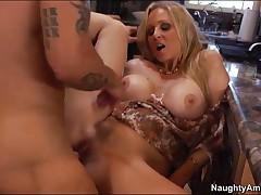 Julia Ann Vs Alan Stafford - My Friends Hot Mom - Alan Stops Inside His Buddys Moms House To Get Som