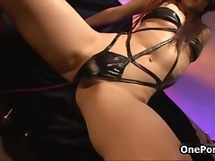 Hairy Japanese Teen Girl Gets Abused In A Kinky Electro Sex Experiment By OnePondo