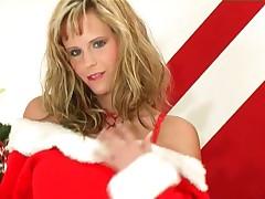 Zuzana Drabinova - Zuzana Drabinova Does A Sexy Holiday Strip Tease In Lingerie