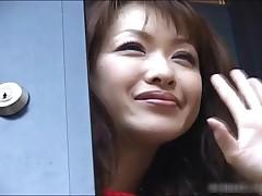 Misora Shindo - Skinny Misora Shindo Cucumber Masturbation 1 By HDidols