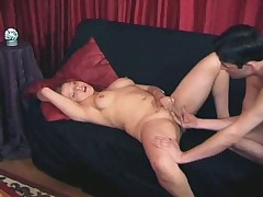 Blonde gets her ass pounded