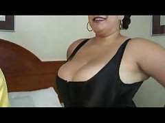 BBW dresses up for hubby