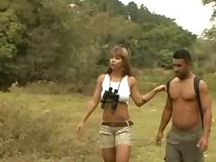 Paula Galvao Fucking in the Jungle
