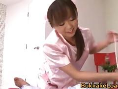 Junko Hayama - Junko Hayama Real Asian Model Getting Loads Of Spunk 2 By BukkakeLoad
