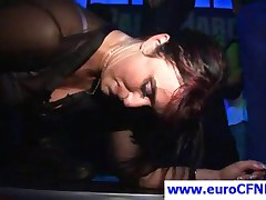 Sexy Party Girls Sharing Strippers Big Cock