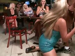 Gorgeous Blondie Gets Facialized By Stripper At Orgy