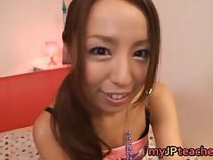 Manami Nishi - Manami Nishi Sucks And Fucks In Her Bedroom, Pov Style 1 By MyJPteacher