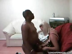 Cumming On Her While Her Hubby Watches
