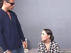 Kristina Rose - Sexy Prisoner Kristina Rose Getting Interrogated And All Holes Drilled