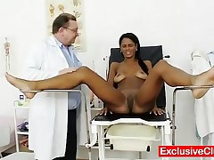 Lexi - Hot Latina Lexi Goint To Be Gyno Checked Up At Clinic Hospital, You Will See Pussy Stretching