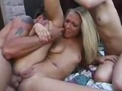 Jenna Haze and her friend go anal outside!