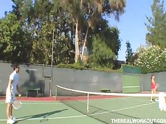 Penny Flame - The Real Workout - Touchy Feely Tennis