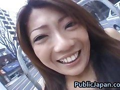 Juri Wakatsuki - Juri Wakatsuki Naughty Asian Chick Enjoys Showing Her Naked Body In Public 2 Public