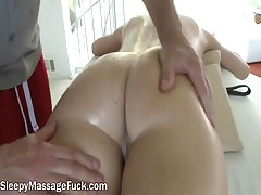 Chanel - Big Tit Latina Likes Fucking Her Masseuses Big Hard Cock