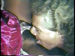 Hot Interracial Classic Porno with Janet