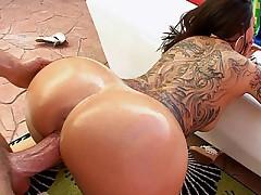 Big beautiful shiny ass!