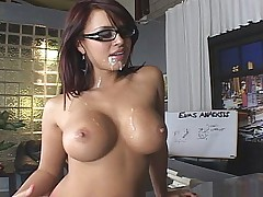 Eva gets fucked & facial
