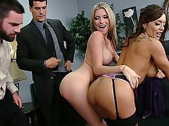 Two office sluts